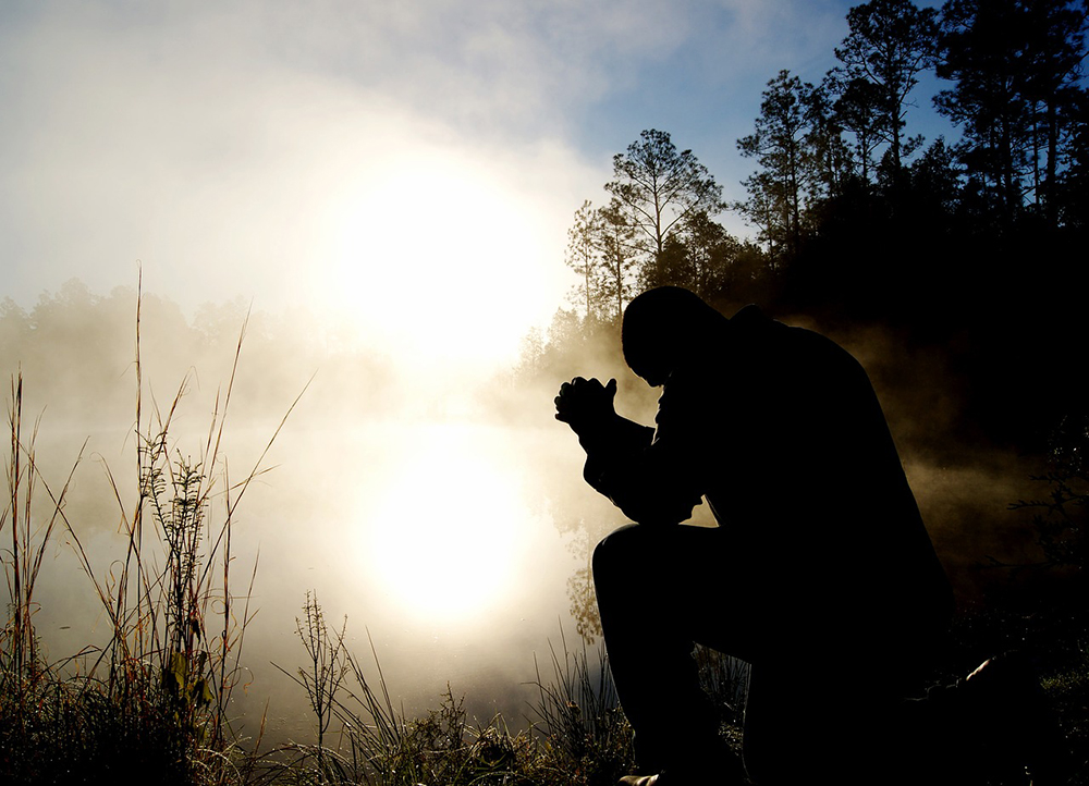 In der Not lernt man das Beten
