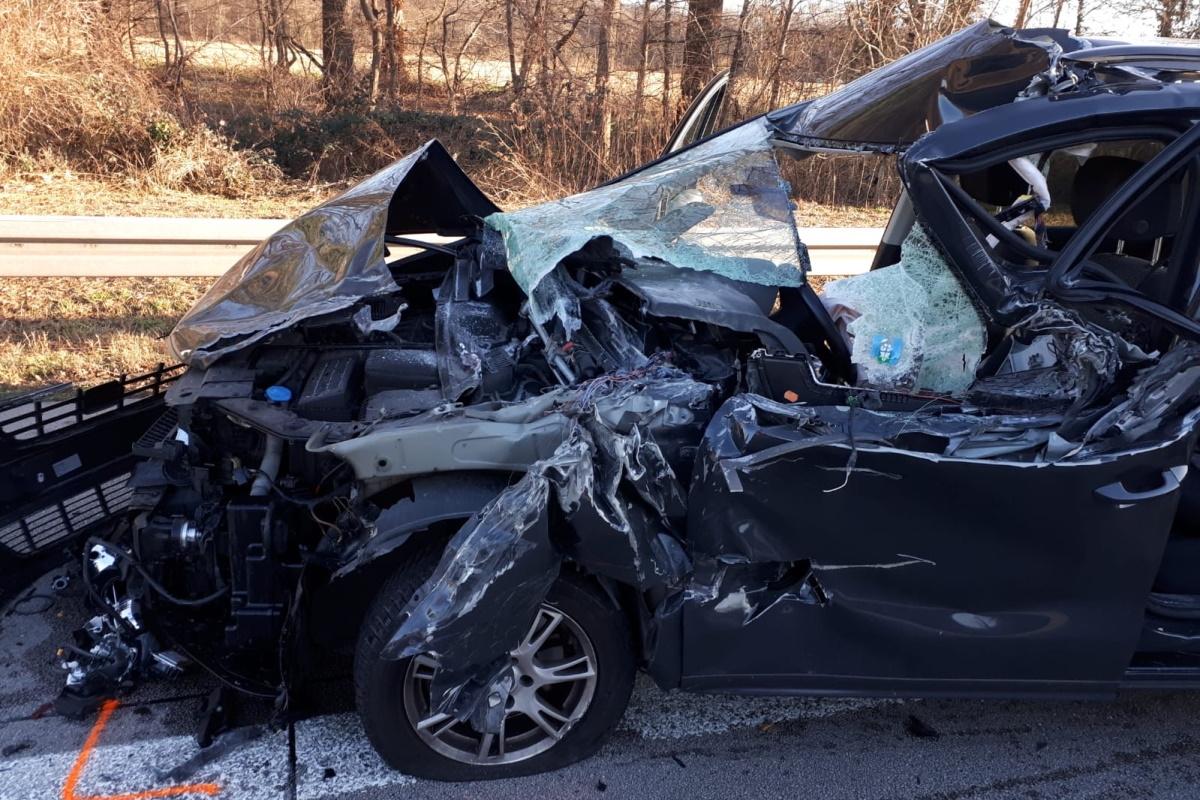Schweren Unfall überlebt